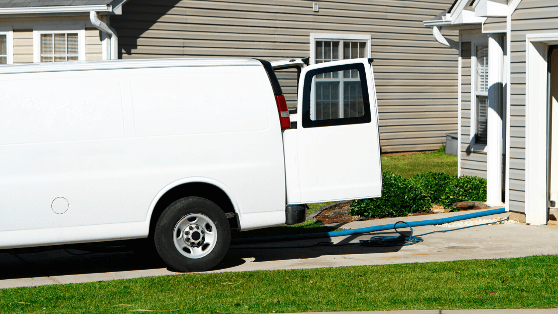 discount carpet cleaning truck
