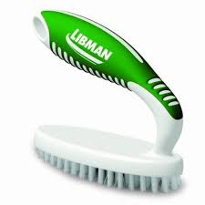 Green Scrubbing Brush