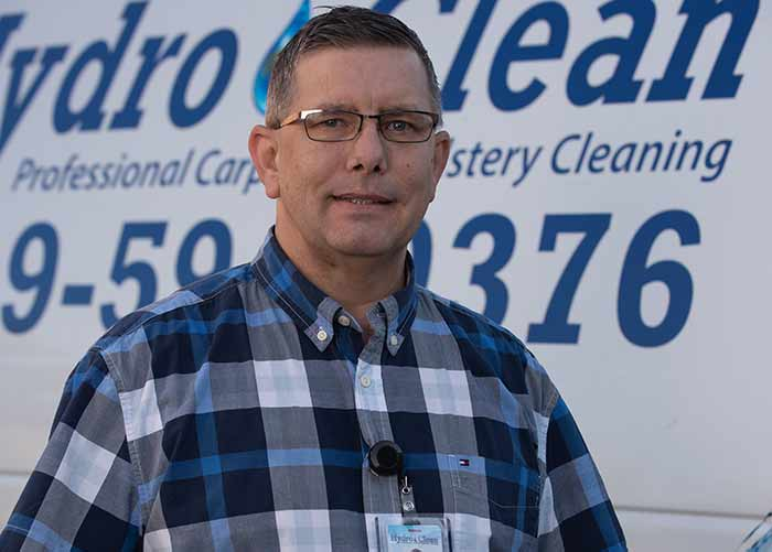 Brandon Kirk of Hydro Clean