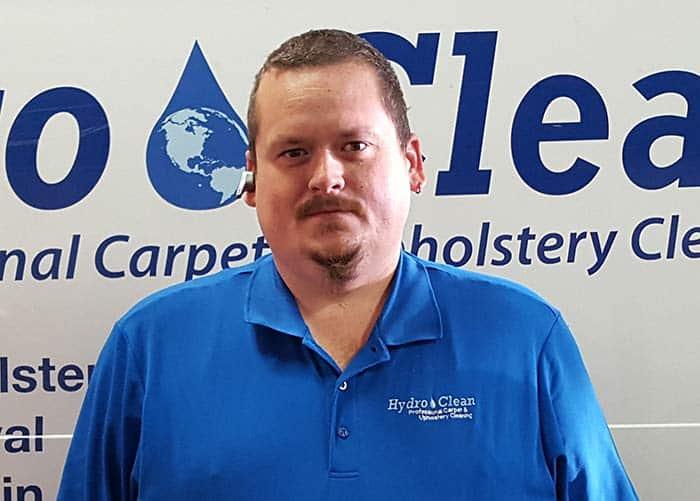 Michael Houle of Hydro Clean Inc