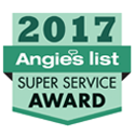 2017 Angie'sList Super Service Award Logo