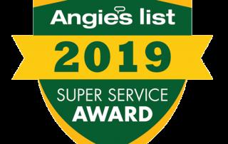 2018 Angie'sList Super Service Award Logo
